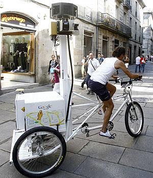 El triciclo de Google